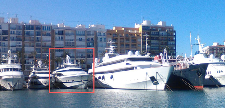 40m Superyacht Berth For Sale